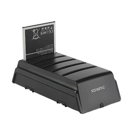 KOAMTAC 5-Slot Battery Charger for Samsung Galaxy Tab Active2 Batteries