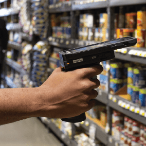 KOAMTAC KDC470 with Pistol Grip Companion for Inventory Management