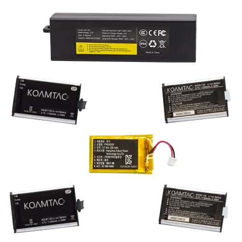 KOAMTAC Data Collector KDC Batteries